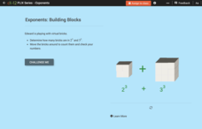 Whole Number Exponents: Building Blocks Interactive