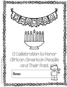 Kwanzaa — A Celebration to Honor African American People and Their Past Printables & Template