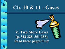 Gases: Dalton's Law and Graham's Law Presentation