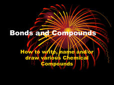 Bonds and Compounds Presentation