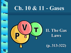 Gases: The Gas Laws Presentation