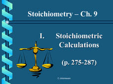 Stoichiometry Calculations Presentation