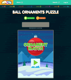 Ball Ornaments Puzzle Interactive