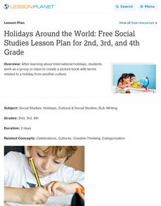 Holidays Around the World Lesson Plan