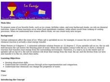 Ice Energy Lesson Plan