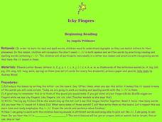 Icky Fingers Lesson Plan