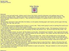 Icky Sticky Lesson Plan