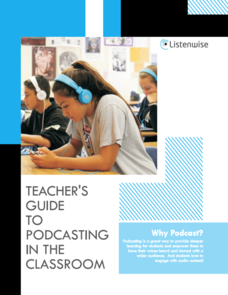 Teacher's Guide to Podcasting in the Classroom Professional Document