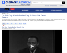 The First Martin Luther King, Jr. Day Video