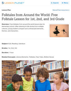 Folktales from Around the World Lesson Plan
