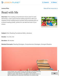 Read with Me Lesson Plan