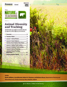Animal Diversity and Tracking Unit