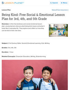 Being Kind Lesson Plan