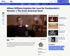 Allison Williams Explains Her Love for Frankenstein's Monster Video