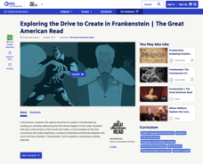 Exploring the Drive to Create in Frankenstein Interactive
