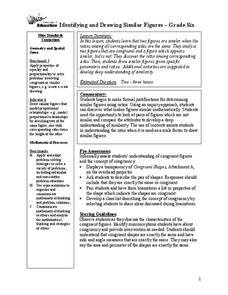 Identifying and Drawing Similar Figures Lesson Plan