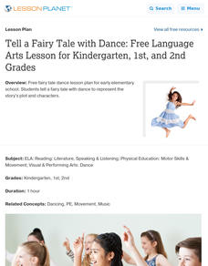 Tell a Fairy Tale with Dance Lesson Plan