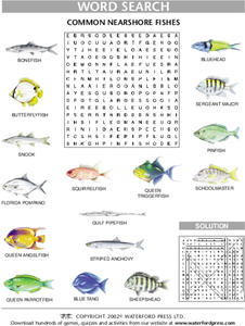Common Nearshore Fishes Lesson Plan