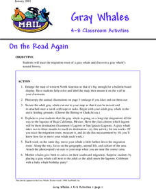 On the Road Again Lesson Plan