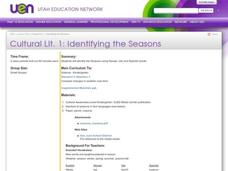 Identifying the Seasons Lesson Plan