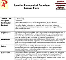 """Career Day"" Lesson Plan"