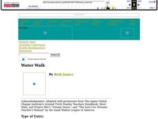 Water Walk Lesson Plan