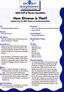 How Diverse is That? Lesson Plan
