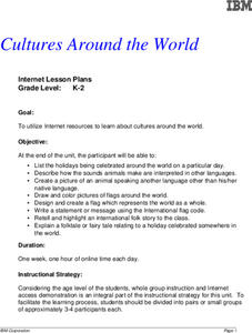 Cultures Around the World Lesson Plan