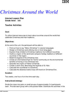 Christmas Around the World Lesson Plan
