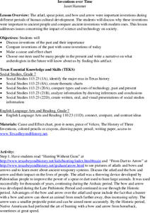 Inventions Over Time Lesson Plan