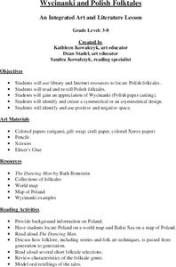 Wycinanki and Polish Folktales Lesson Plan
