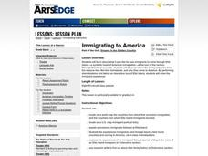 Immigrating to America Worksheet