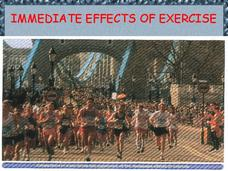 Immediate Effects of Exercise Presentation