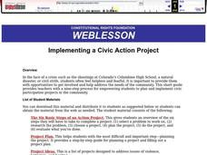 Implementing a Civic Action Project Lesson Plan