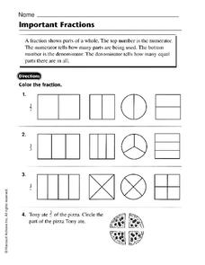 Important Fractions Worksheet