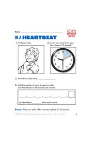 In a Heartbeat Lesson Plan