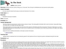 In The Dark Lesson Plan