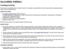 Incredible Edibles Activities & Project