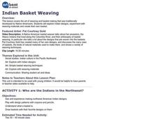 Indian Basket Weaving Lesson Plan