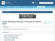 Indian Boarding Schools Lesson Plan