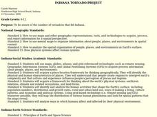 Indiana Tornado Project Lesson Plan