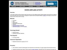 Paper Airplane Activity Lesson Plan
