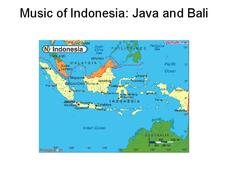 Indonesian Music Presentation