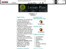 Inertia Lesson Plan