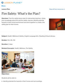 Fire Safety: What's the Plan? Lesson Plan