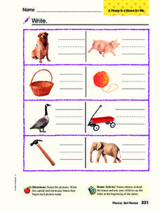 Initial Sounds Worksheet