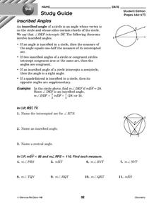 33 Inscribed Angles Worksheet With Answers - Notutahituq ...