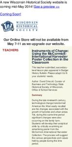 Instruments of Change: Using the McCormick-International Harvester Poster Collection in the Classroom Lesson Plan