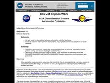 How Jet Engines Work Lesson Plan