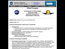 Wind Gauges Lesson Plan